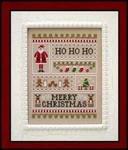Santa Sampler cross stitch chart Country Cottage Needleworks - $7.20