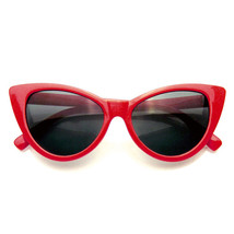 Womens Fashion Hot Tip Vintage Pointed Cat Eye Sunglasses - £5.41 GBP