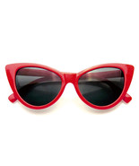 Womens Fashion Hot Tip Vintage Pointed Cat Eye Sunglasses - $7.55