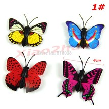 12PCS/lot 3D Magnetic Butterfly Room Wall Decoration Fridge Magnets Sticke  - $8.87