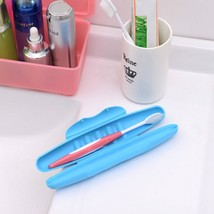 1Pc Portable Traveling Toothbrush Storage Holder Cover Case Box 4 Popular - $8.68
