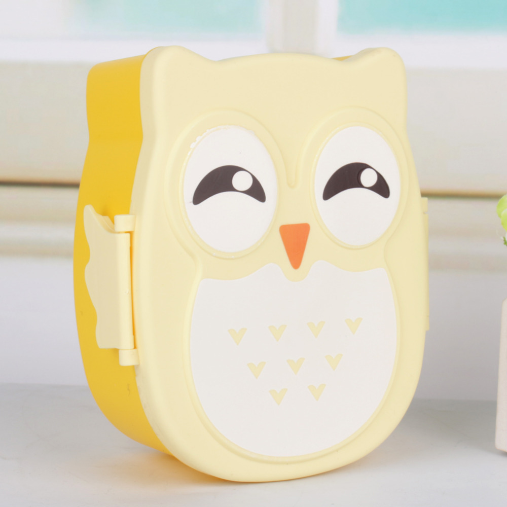 Cartoon lunch box food fruit storage container portable bento box food safe picnic container for