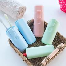 1pc Portable Toothbrush Storage Box Cubby Box Creative Toothbrush Box Tr... - $10.75