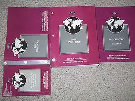 1997 LINCOLN TOWN CAR Service Shop Repair Manual Set 97 DEALERSHIP FACTO... - $247.45