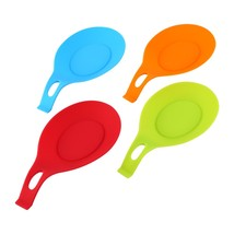1Pc Silicone Spoon Insulation Mat Silicone Heat Resistant Placemat Drink... - $8.84
