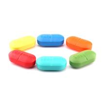 1Pcs Portable Mini Storage Case 6 Slot Classify Medical Pill Box Drug Sn... - $10.84