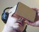 6 inch DIY Google Cardboard + Resin Lens 3D VR Virtual Reality Glasses Hardboard
