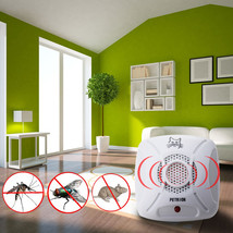 Electronic Ultrasonic Pest Control Repeller Rat Mosquito Mouse InsectKil... - $15.76