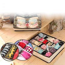 4Pcs Underwear Socks Tie Bra Glove Closet Organizer Storage Box Drawer C... - $20.61