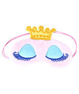 Sweet Long Eyelashes Crown Cartoon Eyeshade Sleep Eye Cover Eye Blinder ... - $9.01