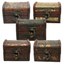 Vintage Jewelry Pearl Necklace Bracelet Storage Organizer Wooden Case Gi... - $8.71