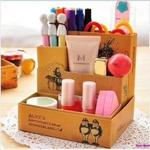 DIY Paper Board Fairy Tale Storage Box Desk Stationery Makeup Cosmetic O... - $9.90
