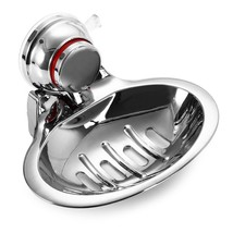 Home Stainless Steel Soap Dish Storage Holder R... - $13.72