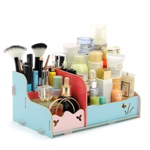 Hoomall Handmade Wooden Storage Box For Jewelry Makeup Organizer For Cos... - $35.25