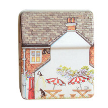 Mini Dream Vintage House Tinplate Storage Tin Box Coin Bag Jewelry Box 7K5W - $6.54