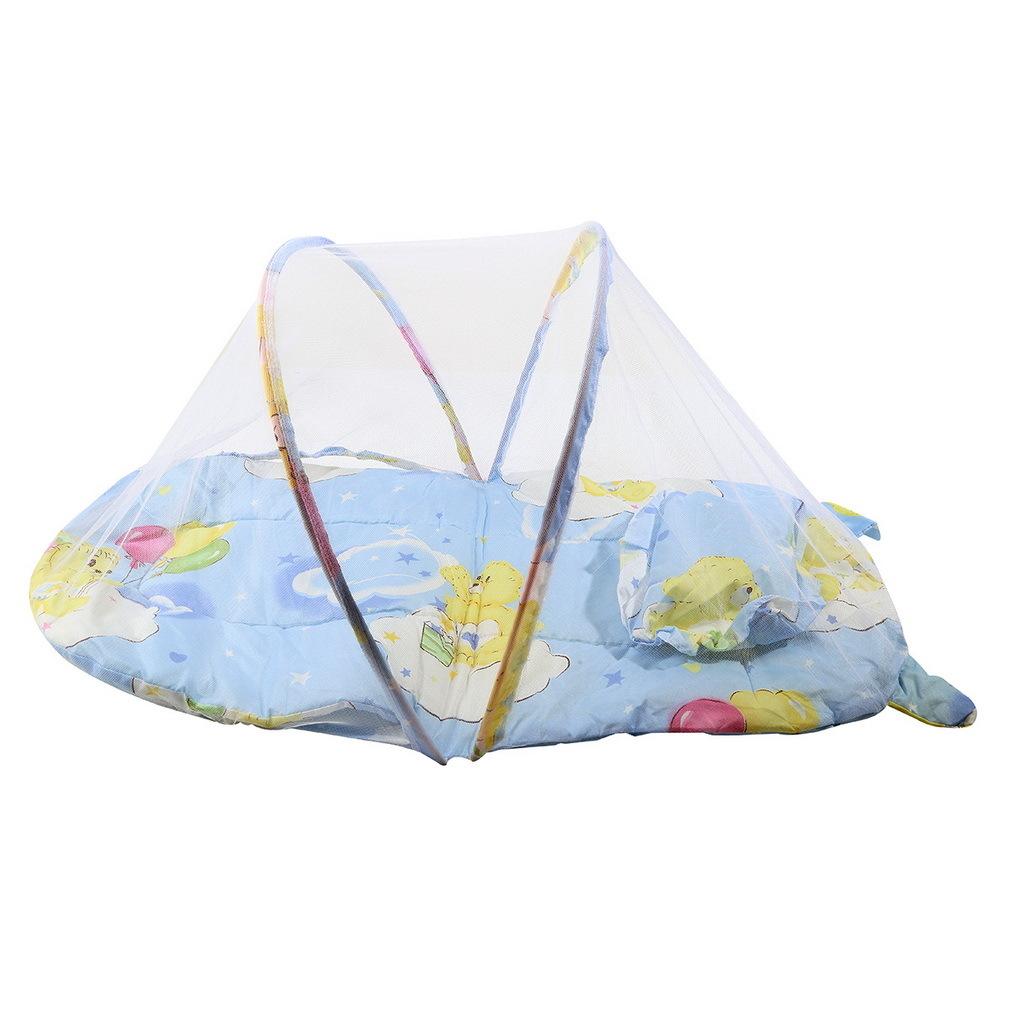 Crib Mattress Cushion Portable Baby Bed Crib Folding