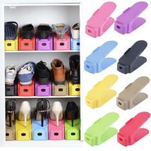 Shoe Racks Modern Double Cleaning Storage Shoes Rack Living Room Shoebox... - $11.37