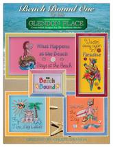 Beach Bound 1 cross stitch chart Glendon Place   - $14.40