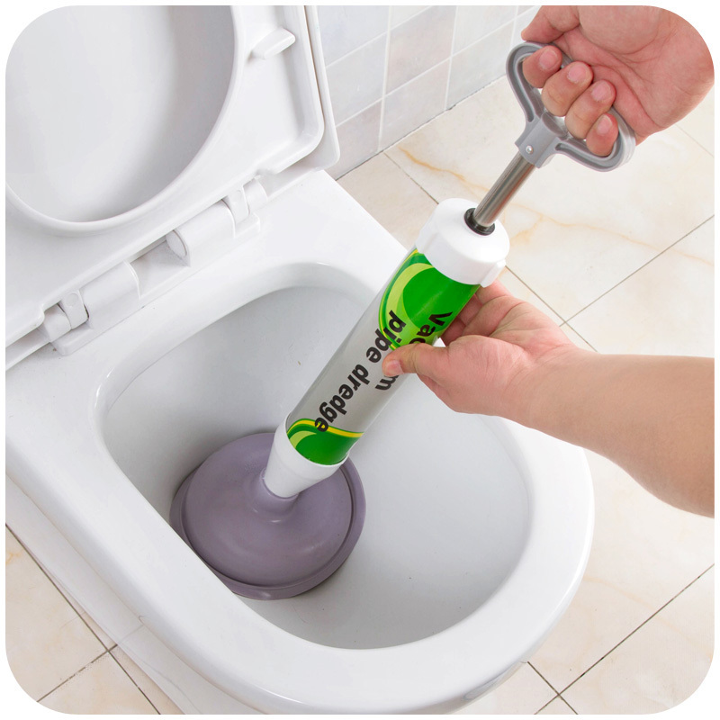 Strong Pressure Home Toilet Dredge Sewer Toilet Bowl