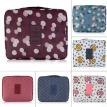 Womens travel toiletry hanging mesh storage bag purse organizer bag inse... - $11.65