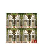 10 Medium White Victorian Style Candle Lanterns Wedding Events Centerpie... - $124.89