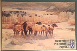 """1000 Piece Puzzle """"32 Degrees Below"""" [Brand New] - $56.25"""