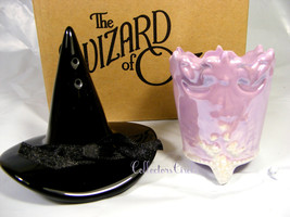 Vandor Wizard Oz Glinda Good Witch Crown Wicked Witch Hat Salt Pepper Sh... - $24.95