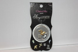 "Charm Me Present ""Lost and Found"" Story Lockets Metal Charms Asst 5 pie... - $7.99"
