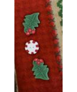 BUTTON PACK JABC (3 total) Merry Christmas Pill... - $7.75