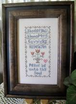 Peace sampler cross stitch chart From The Heart  - $7.20