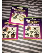 Fantasy Makers Glitter Tattoos Temporary Trick ... - $3.99