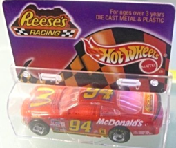 "Hot Wheels  Die Cast Car ""Reese's Racing""  ""Bill Elliott"" No. 94 McDonal... - $15.77"
