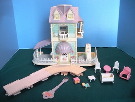 Vintage Fisher Price #5161 Baby's Nursery Cottage 100% COMP/EXC! - $65.99