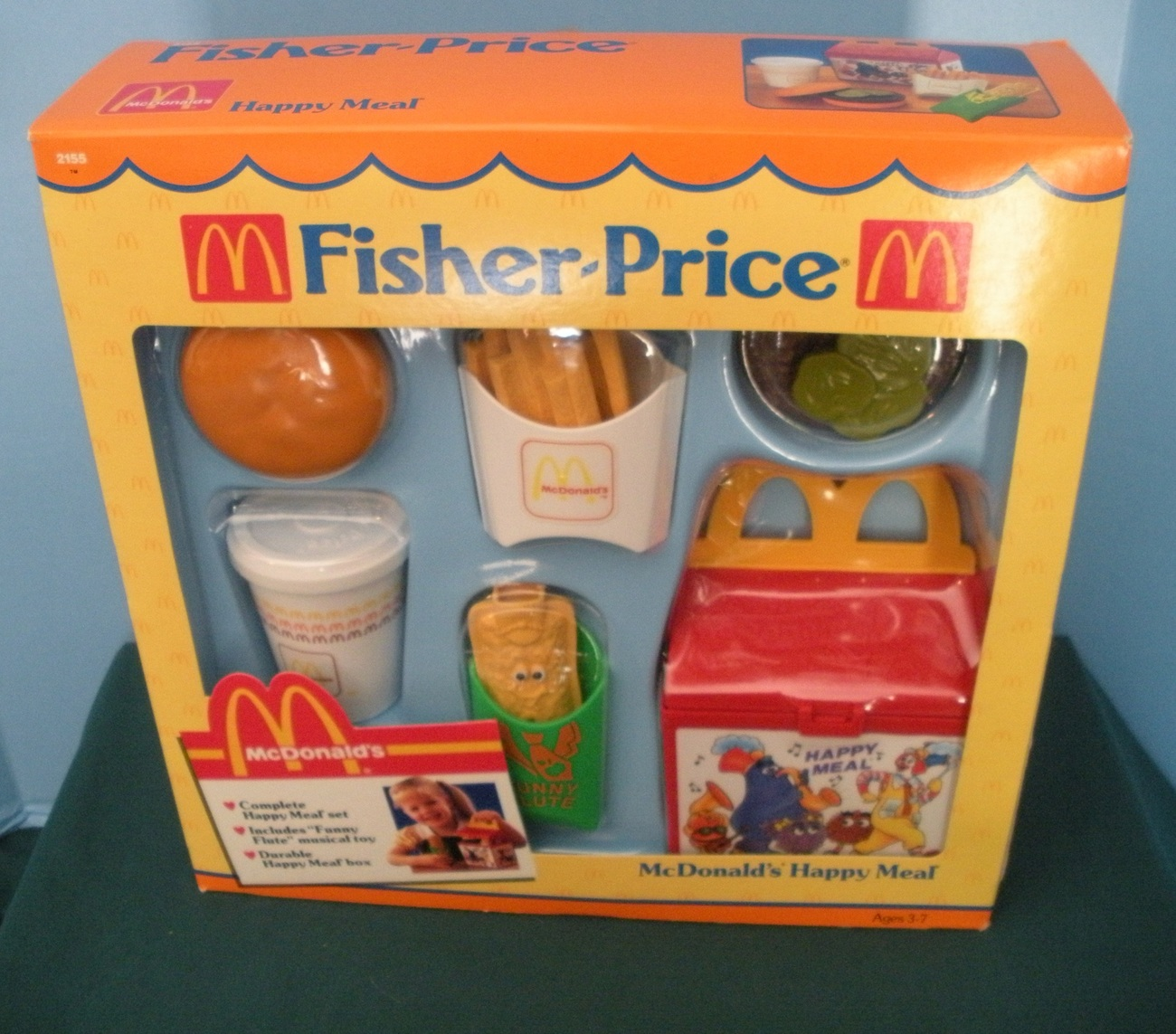 Vintage fisher price fun with food 2155 mcdonald 39 s happy - Cuisine bilingue fisher price ...