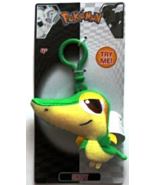 "Pokemon ""Snivy"" Plush - Clip to Backpack, Bag, Clothes and More [Brand New] - $16.78"