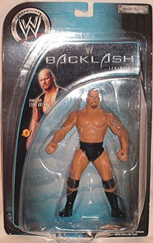 "WWE Back Lash ""Stone Cold Steve Austin"" 2003 Figure [Brand New]"