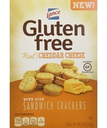 Lance Gluten Free Cheddar Cheese Sandwich Crackers, 5 Ounce (Pack of 4) - $32.41