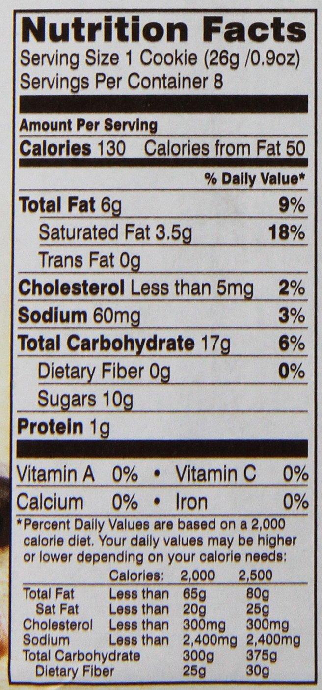 Pepperidge Farm Chesapeake, Crispy, Cookies, Dark Chocolate Pecan, 7.2 oz, Bag,  image 3