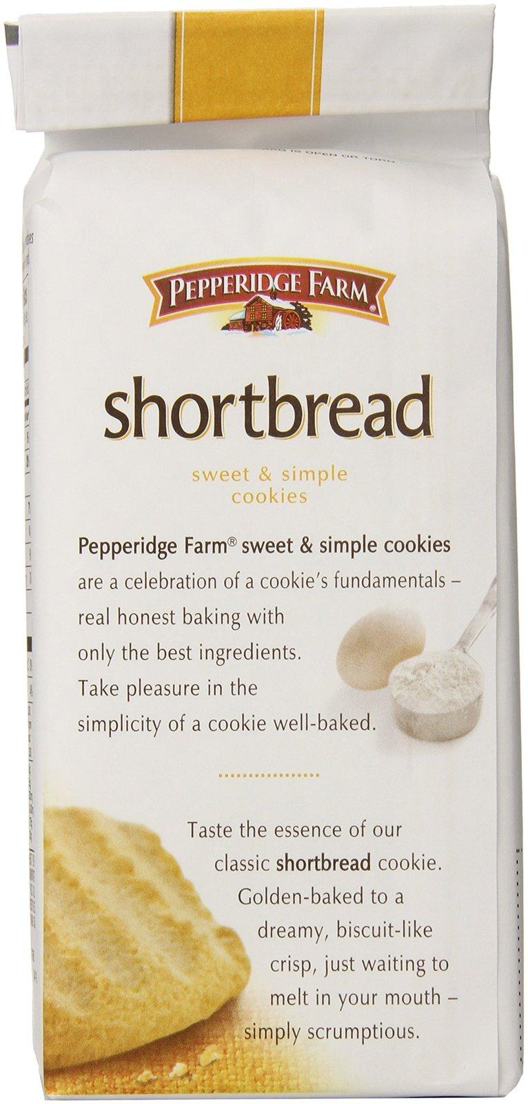 Pepperidge Farm Shortbread Cookies, 5.5 oz. Bag image 4