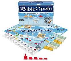 BibleOpoly: A Biblical Game of Fun & Faith [Complete] Monopoly Style Boa... - $52.61