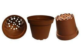 Plastic Pots for Plants, Cuttings & Seedlings, 4-Inch, 30-Pack. Color: Terrac... - ₨394.72 INR