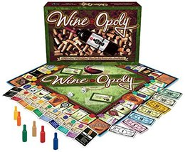 Wine-Opoly Monopoly Board Game - $64.30