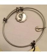 Bella Ryann F Charm Bangle Bracelet - $10.88