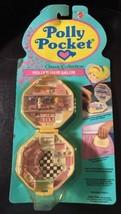 Vintage 1992 Polly Pocket Polly's Hair Salon NEW & SEALED MOC Bluebird C... - $189.99