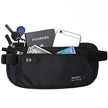 DAITET Money Belt - Passport Holder Secure Hidden Travel Wallet with RFI... - $35.99
