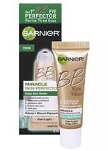 2 Garnier BB Eye Miracle Skin Perfector Daily Eye Roller Haloxyl Fair Light - $7.97
