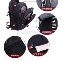 """Hot Waterproof Swiss Travel Backpack Men Women 15.6"""" Laptop Outdoor Scho... - $59.97"""