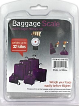 Baggage scale With Tape Measure [Brand New] - $25.07