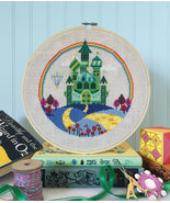 The Emerald City- Wizard of Oz cross stitch cha... - $9.00