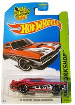 "2014 Hot Wheels Workshop Red "" '69 Mercury Cougar Eliminator"" [Brand New] - $11.83"